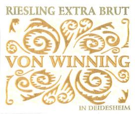 Von Winning Extra Brut Riesling Sekt