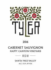Tyler RSW Cabernet, Happy Canyon 2017