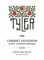 Tyler RSW Cabernet, Happy Canyon 2017