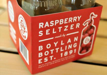 Boylan Raspberry Seltzer 4 x 12oz