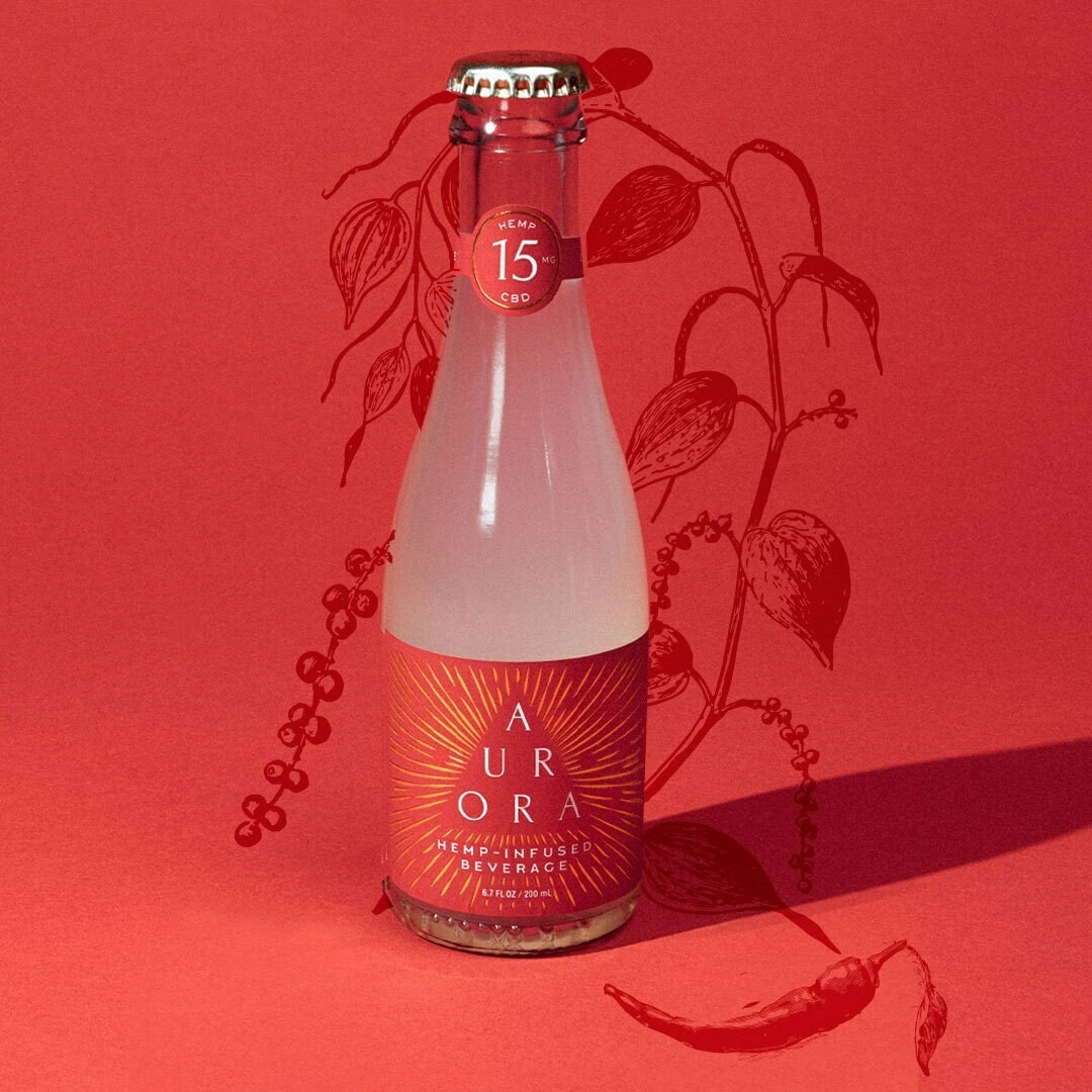 Cayenne Citrus Aurora Hemp Extract Sodas