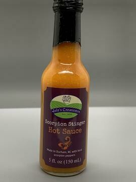 Scorpion Stinger Hot Sauce by Julz Creations