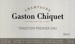 "Gaston Chiquet ""Tradition"" Premier Cru Champagne Brut NV"