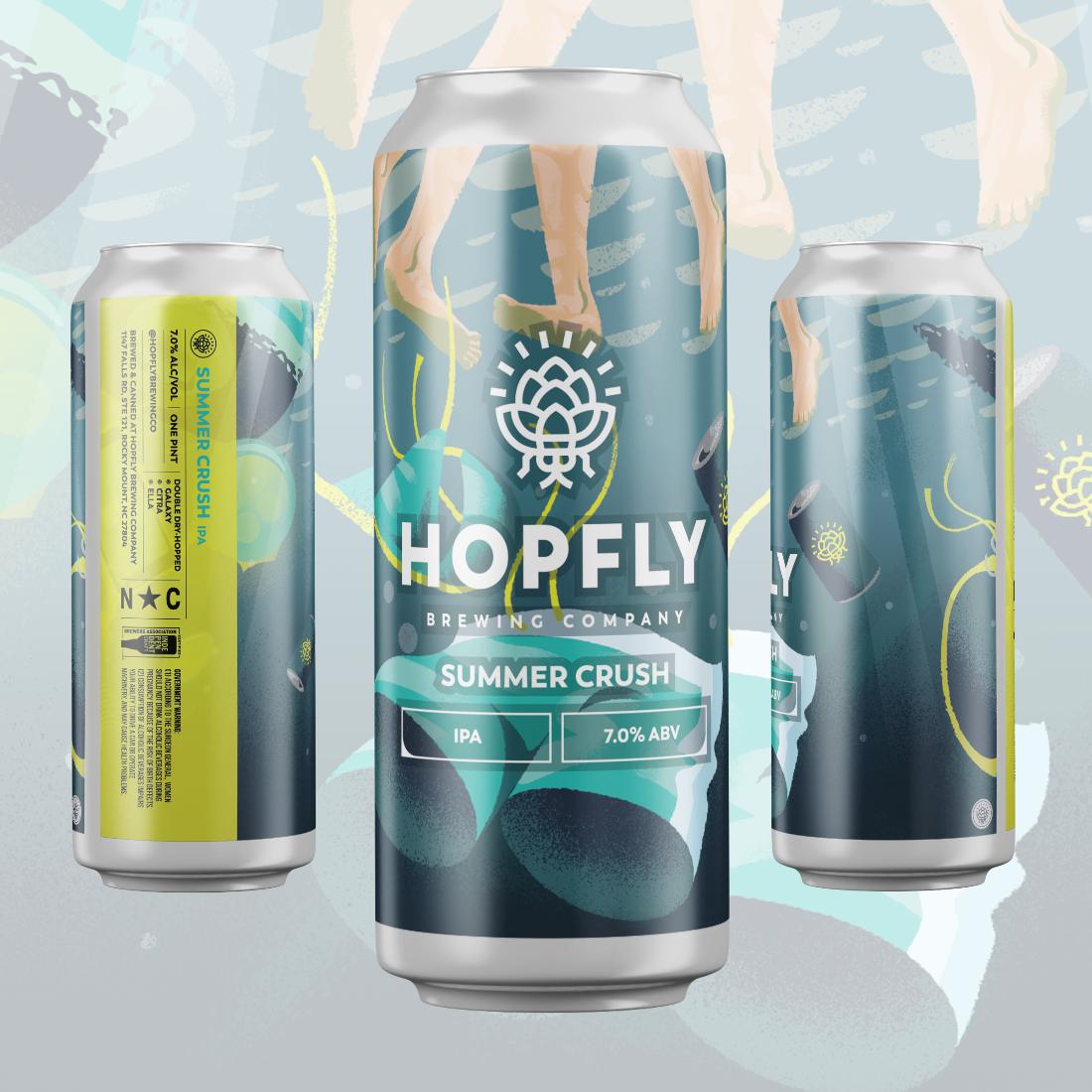 Hopfly Summer Crush IPA