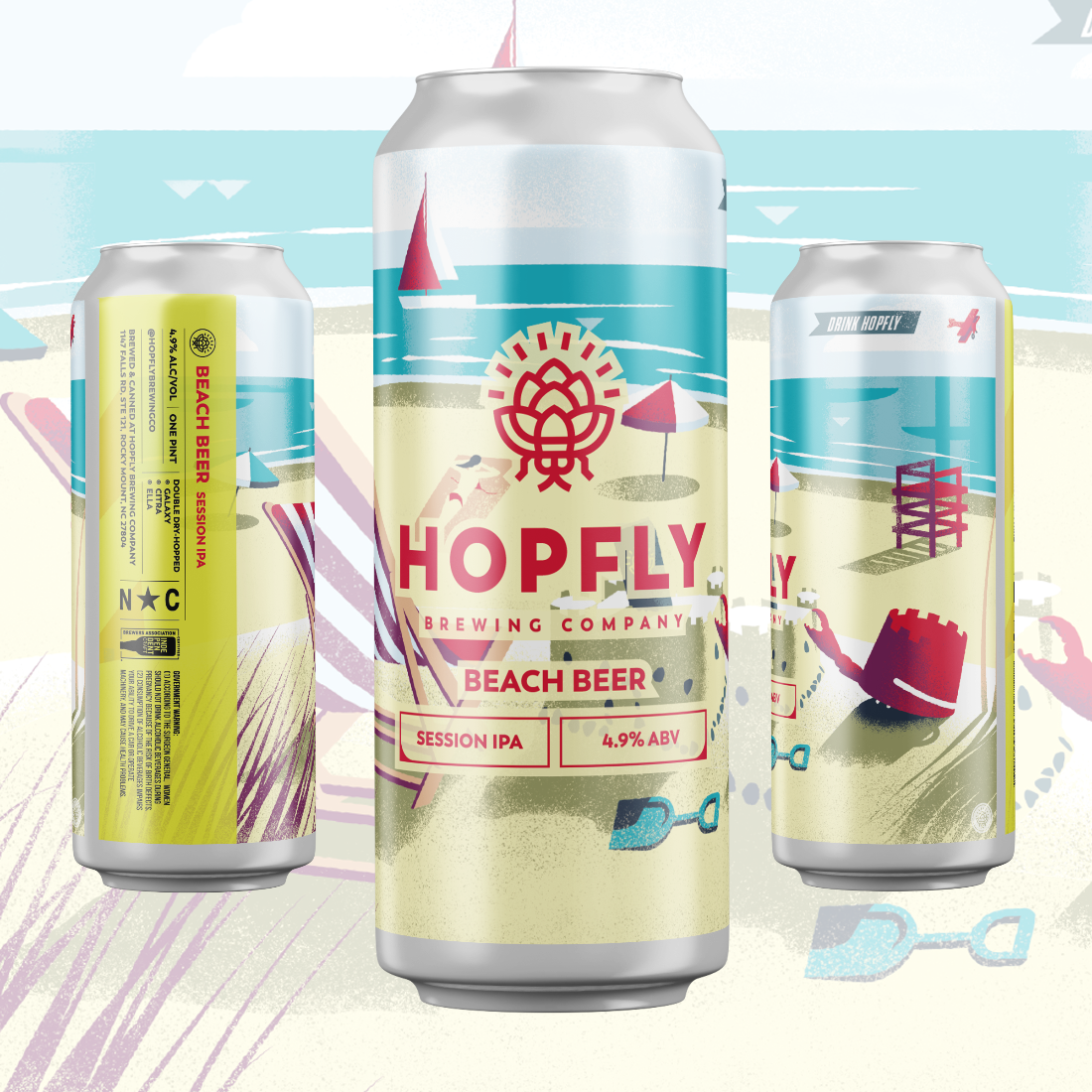 Hopfly Beach Beer Session NEIPA
