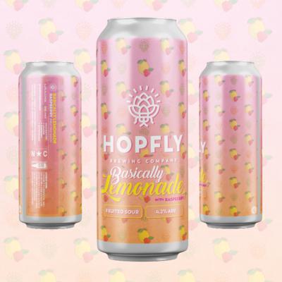 Hopfly Basically Lemonade w/ Raspberry