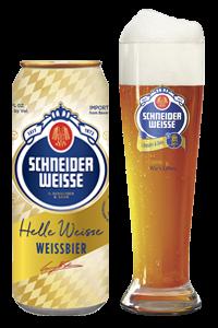 Schneider Weisse 'Hefe-Weizenbier'  (16.1oz - 4pk)