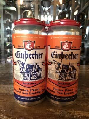 Einbecker UNFILTERED Pilsner 4pk-16oz Cans