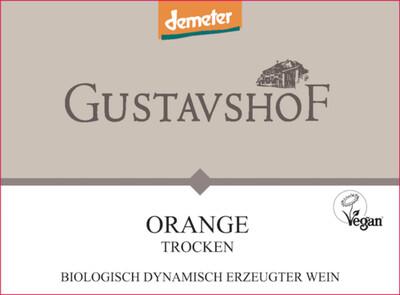 Gustavshof Orange Chardonnay Trocken 2018