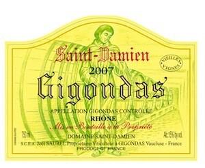 Saint Damien Gigondas Vielles Vignes 2017