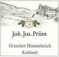 JJ Prum Gracher Himmelreich Riesling Kabinett 2018