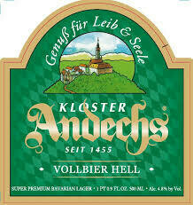 Andechs Vollbier Hell Lager