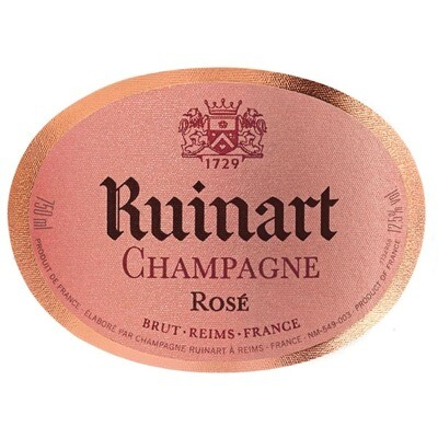 Ruinart Brut Rose Champagne NV