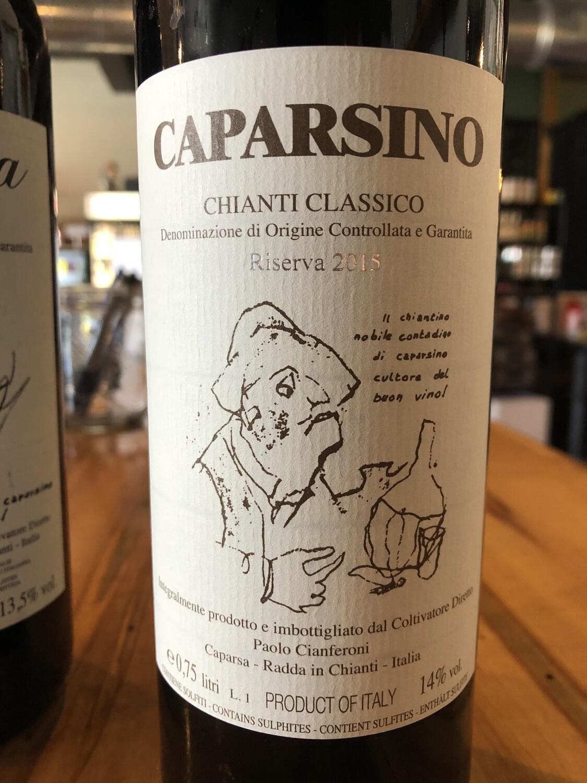 """Caparsa """"Caparsino"""" Chianti Classico Riserva 2015"""