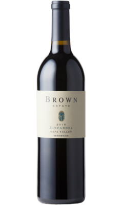 Brown Estate Zinfandel Napa 2018