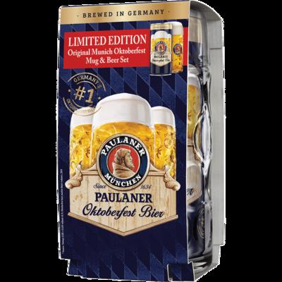 Paulaner Oktoberfest Bier Gift Set