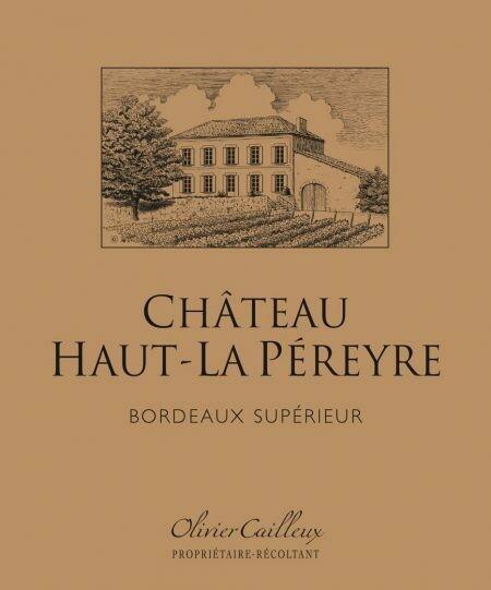 Chateau Haut-La Pereyre Bordeaux Superior 2018