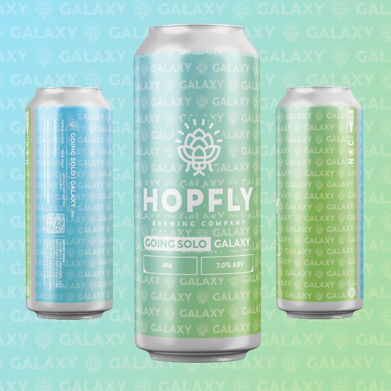Hopfly Going Solo Galaxy IPA