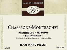 Jean-Marc Pillot Chassagne-Montrachet 1er Cru Morgeot Les Fairendes 2015