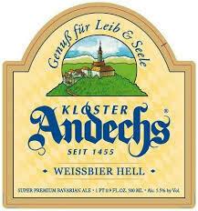 Kloster Andechs Weissbier Hell