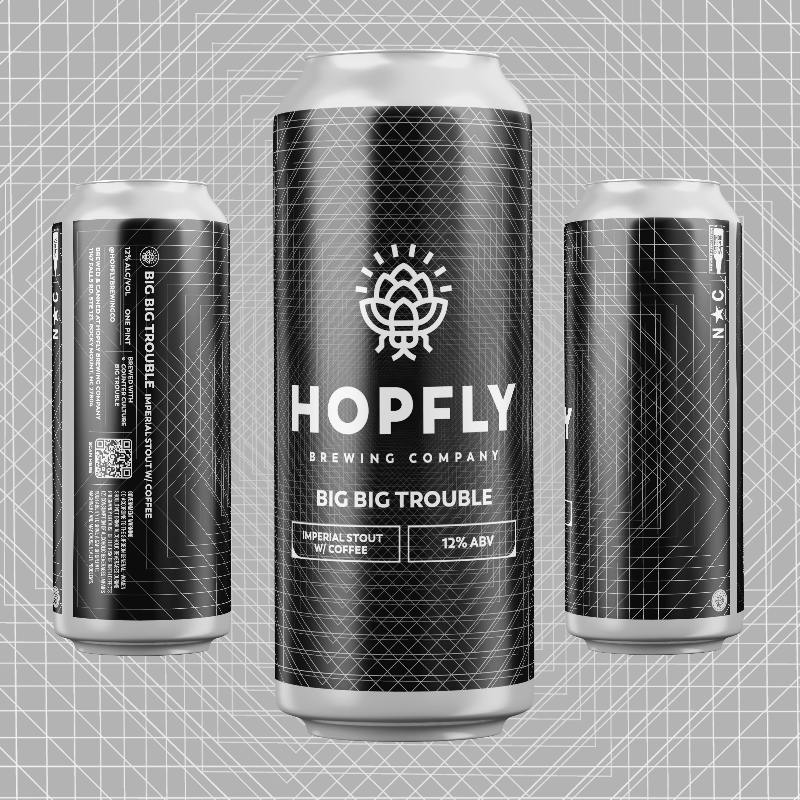 Hopfly Big Big Trouble Imperial Stout