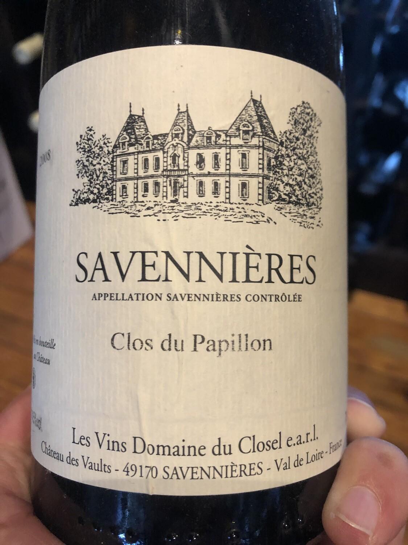 Domaine du Closel Savennieres Clos du Papillon 2002