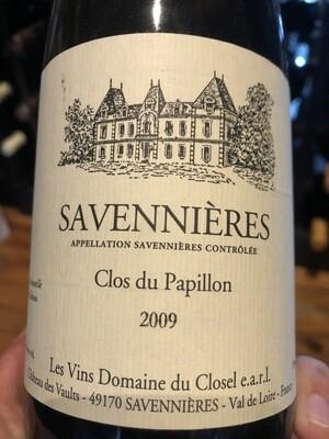 Domaine du Closel Savennieres Clos du Papillon 2009