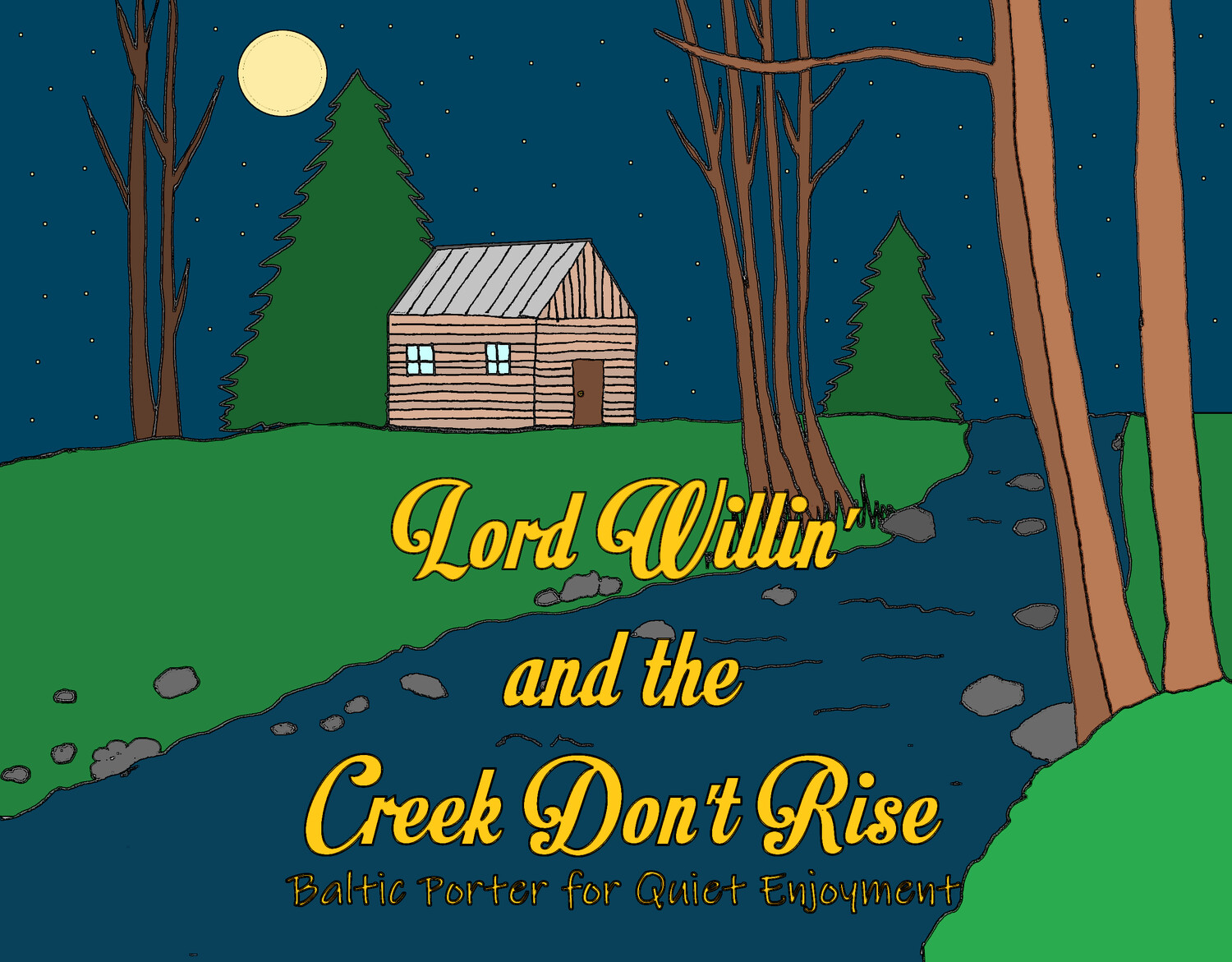 Casita Lord Willing and the Creek Don't Rise