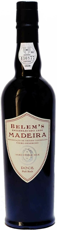 NV Belem's Doce Full-Rich Madeira