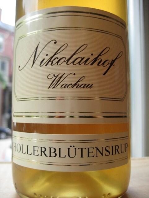 Nikolaihof Hollerblutensirup (Elderflower Syrup) 750mL