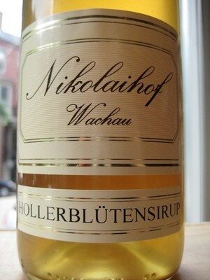 Nikolaihof Hollerblutensirup (Elderflower Syrup) 750mL