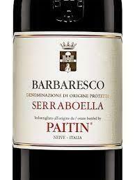 Paitin Barbaresco Serraboella 2015