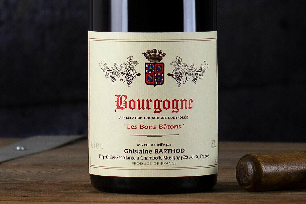 """Ghislaine Barthod """"Les Bons Batons"""" Bourgogne Rouge 2017"""