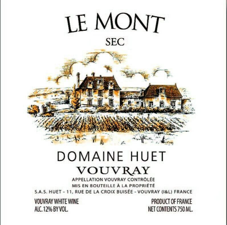 Domaine Huet Vouvray Sec Le Mont 2019