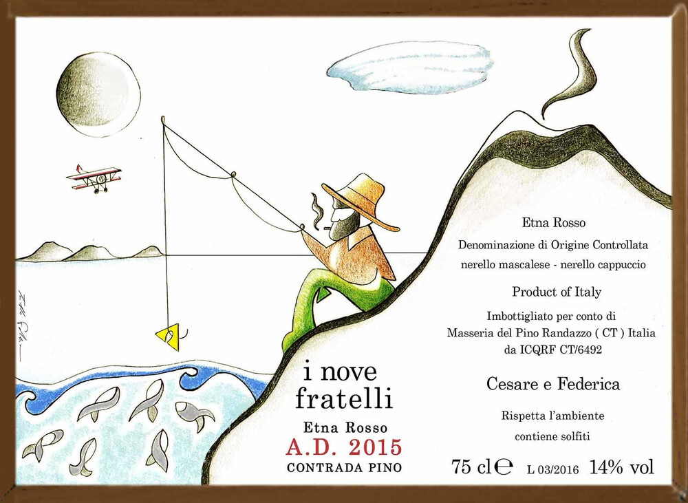 Masseria Del Pino I Nove Fratelli Etna Rosso 2017