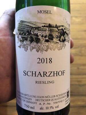 Egon Muller Scharzhof Riesling Qba 2018