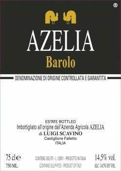 Azelia Barolo 2012 1.5L