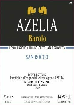 Azelia Barolo San Rocco 1999 MAGNUM