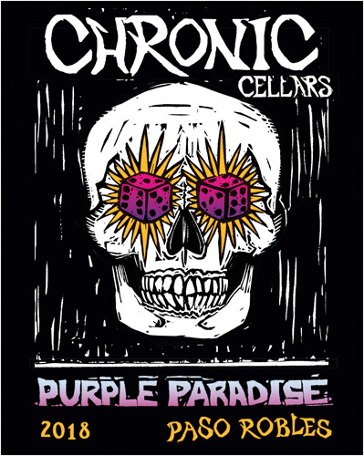 Chronic Cellars Purple Paridise Red Blend 2018
