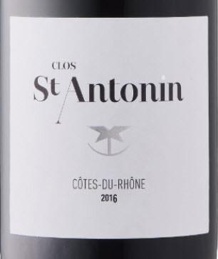 Clos St. Antonin Cotes du Rhone 2016