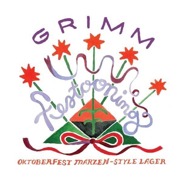 Grimm Festooning Oktoberfest Lager 16oz-4pk