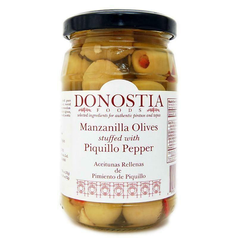 Donostia Manzanilla Olives Stuffed w/ Piquillo Pepper