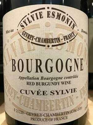 Esmonin Bourgogne Rouge Cuvee Sylvie 2017