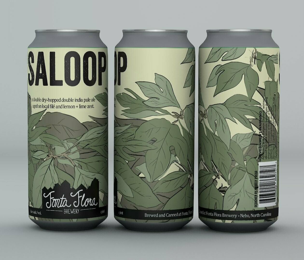 Fonta Flora Brewery Saloop Dbl IPA