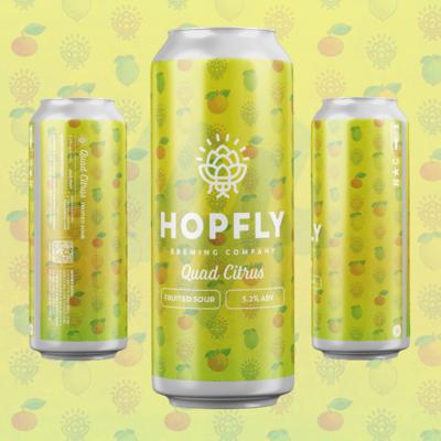 Hopfly Quad Citrus Fruited Sour