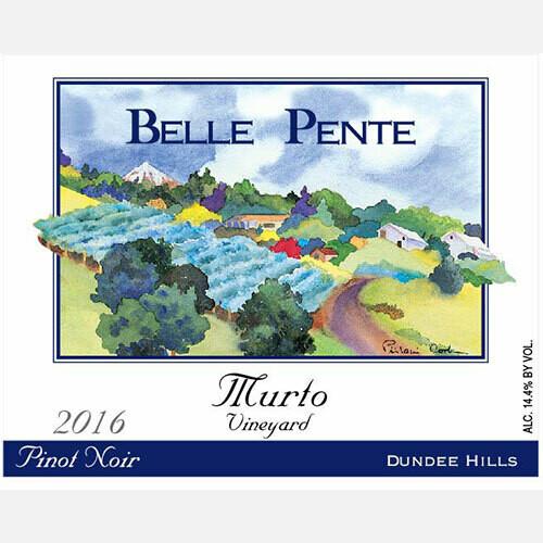 Belle Pente Pinot Noir Murto Vineyard 2016
