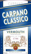 Carpano Classico Vermouth NV