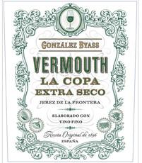 Gonzalez Byass La Copa Extra Seco Vermouth