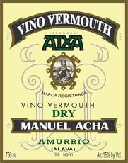 Destilerias Acha 'Atxa' Dry Vermouth