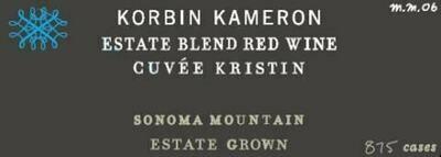 2014 Korbin Kameron Estate Blend Cuvee Kristin